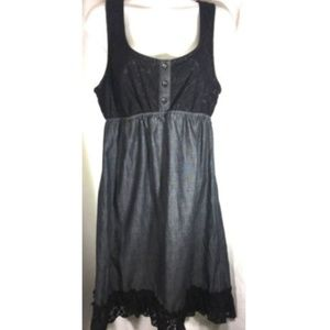 Maurices Tunic Dress Size M Lace Racer Back